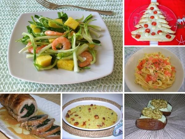 menù di Natale piatti semplici e gustosi