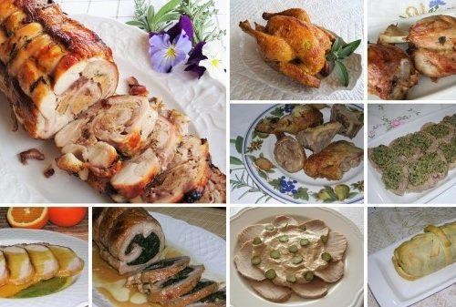 Secondi piatti per Natale raccolta