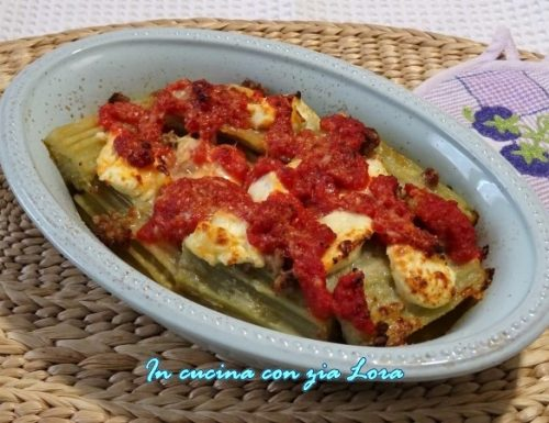 Cardo o gobbo al forno ricetta veloce