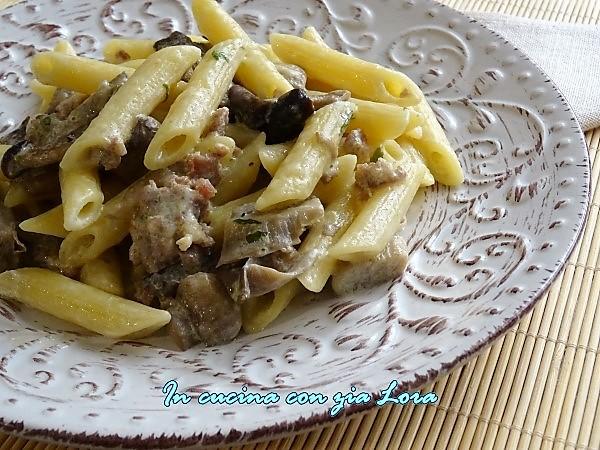 pasta alla norcina ricetta tipica dell'Umbria