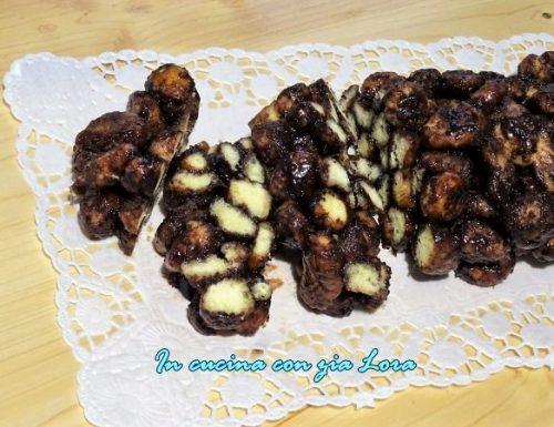 Cicerchiata al cioccolato ricetta di carnevale