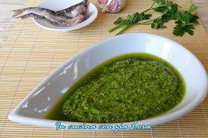 Salsa verde al mixer ricetta veloce