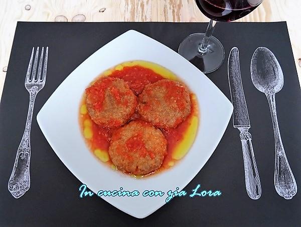poplpette ripassate in salsa di pomodoro