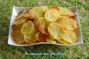 Patate chips al forno ricetta light