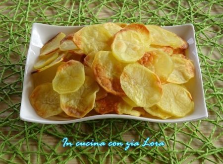 Patate chips al forno ricetta light