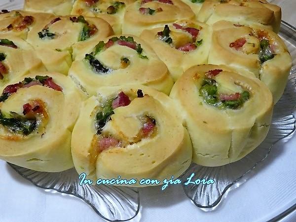 torta di rose salata asparagi e prosciutto cotto