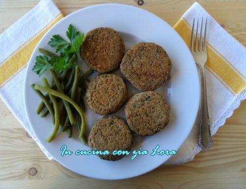 Burger di lenticchie ricetta vegetariana
