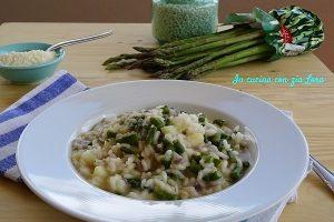 Risotto asparagi e patate