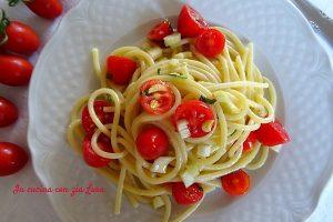 Spaghetti in insalata ricetta estiva