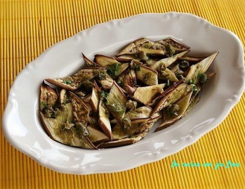 Melanzane olivia grigliate al forno