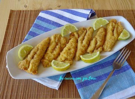 Filetti di gallinella fritti impanati