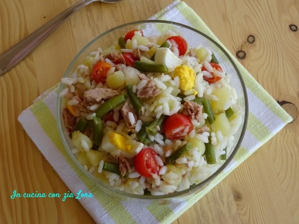insalata di riso alla nizzarda