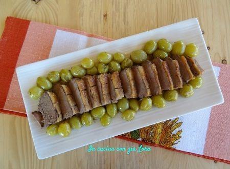Petto di anatra con uva bianca