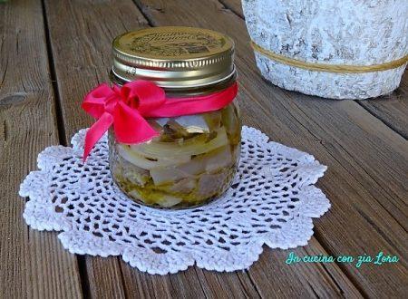 Melanzane olivia sott'olio