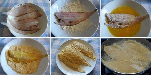 come fare la sogliola fritta impanata