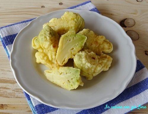 Cavolo romanesco in pastella