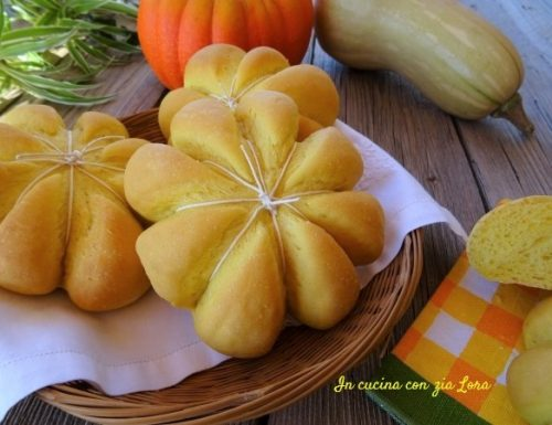 Pane alla zucca gialla ricetta autunnale