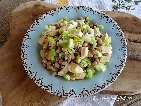insalata di pollo e fagioli ricetta semplice