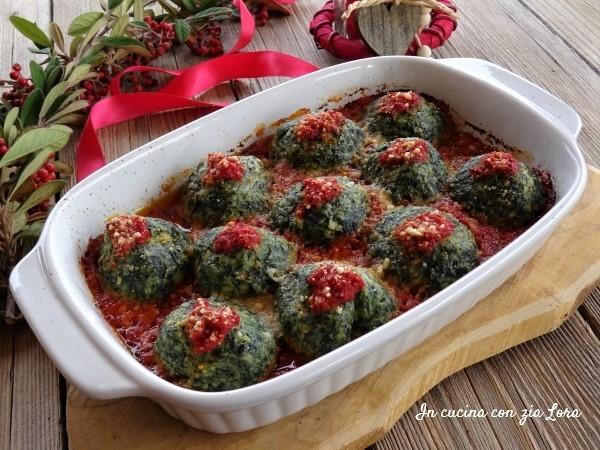 malfatti o gnudi al forno ricetta tipica toscana