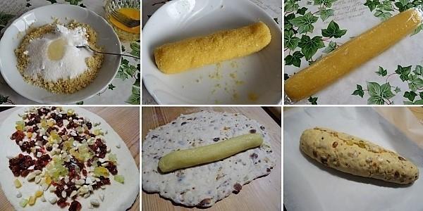 preparazione dello stollen dolce tipico natalizio tedesco 2