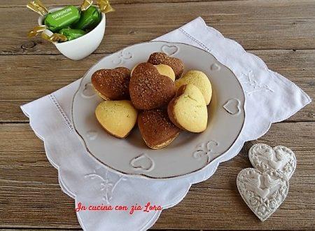 Biscotti San Valentino con cacao