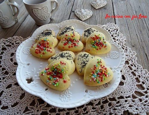 Biscotti due cuori tanti colori