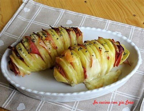 Come fare le patate a fisarmonica al forno