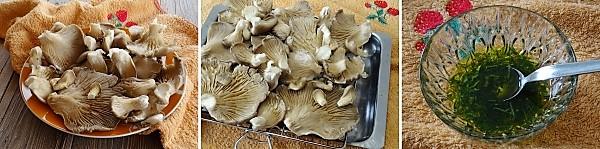 preparazione dei funghi pleurotus al forno a modo mio