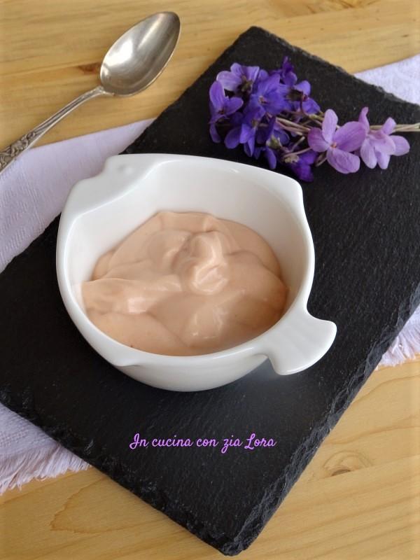 salsa rosa ricetta light a modo mio