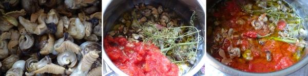 Come cucinare le lumache di terra ricetta completa in for Cucinare le lumache