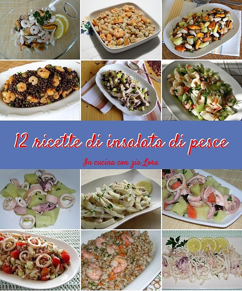 Dodici ricette di insalata di pesce