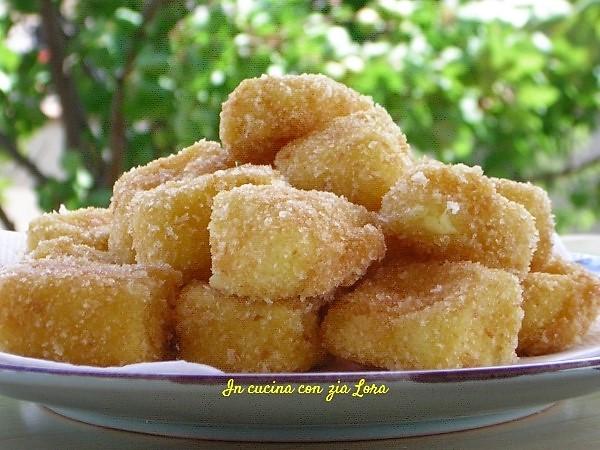 Gnocchetti di crema fritta ricetta marchigiana
