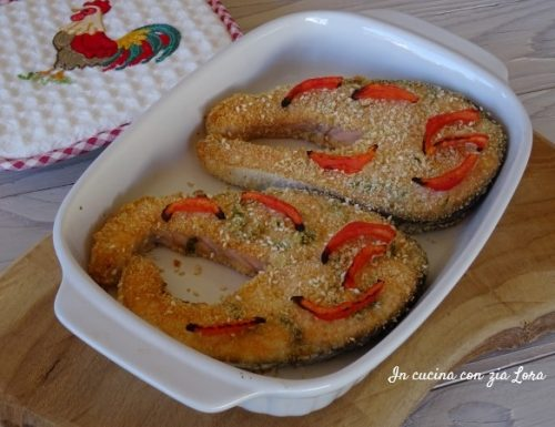Salmone impanato al forno saporito