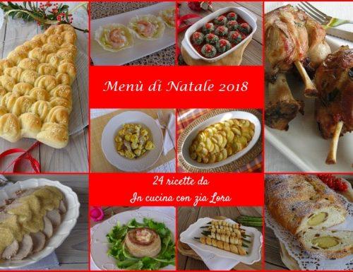 Menù di Natale 2018 raccolta di ricette