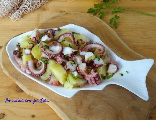 Insalata di polpo e patate semplice e saporita