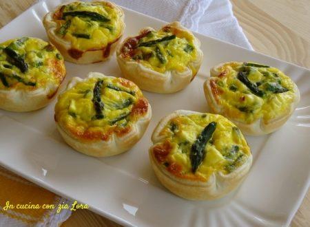 Tortine agli asparagi ricetta veloce