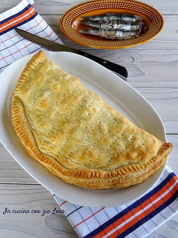Torta salata di pasta sfoglia pronta