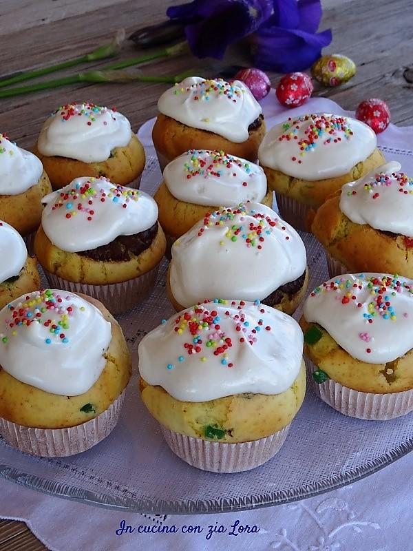 Muffin di Pasqua allegri e deliziosi