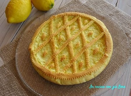 Crostata light con ricotta e riso