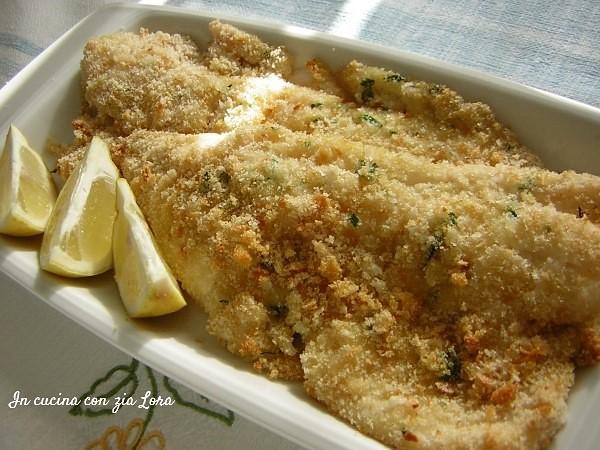 Filetti di merluzzo al forno leggeri