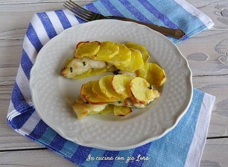 Filetti di persico in crosta di patate