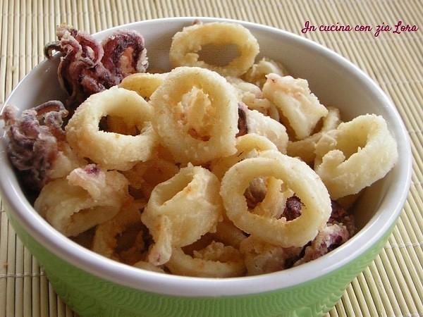 Calamaretti fritti il piacere della frittura