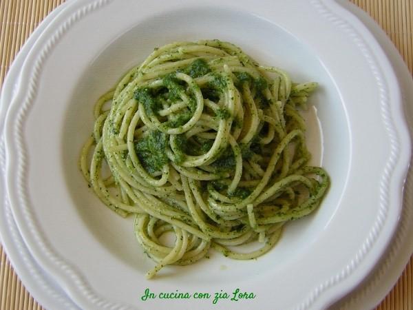 Spaghetti al pesto la mia ricetta perfetta