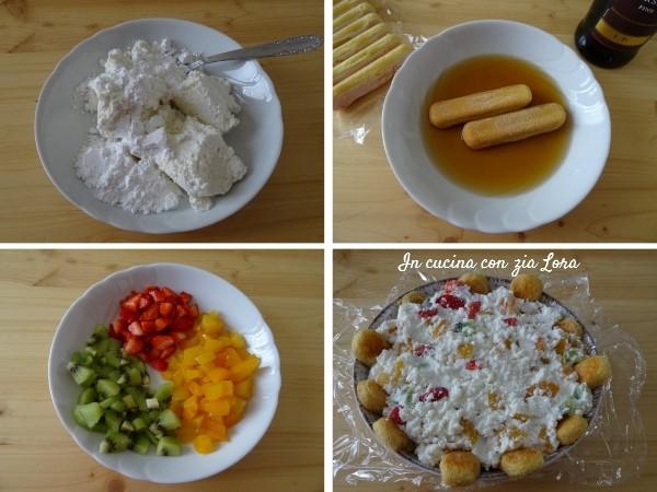 Preparazione della cassata casalinga dolce irresistibile