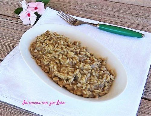 Risotto con lenticchie di Colfiorito