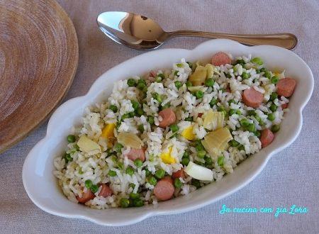 Insalata di riso senza sottaceti