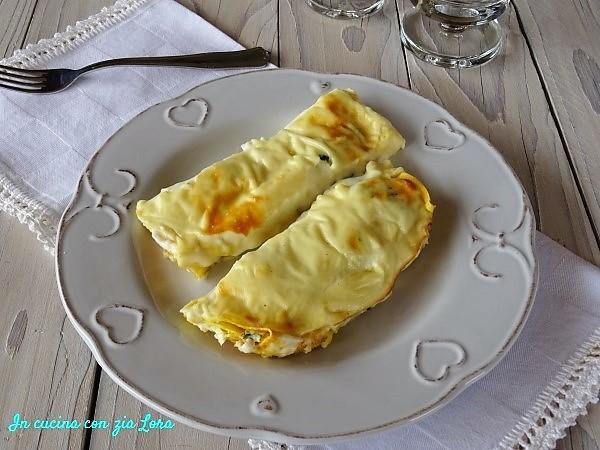 Cannelloni al salmone fresco ricetta veloce