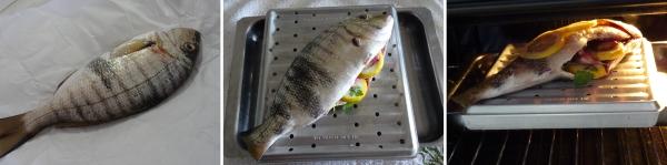 Preparazione della mormora al forno ricetta semplice