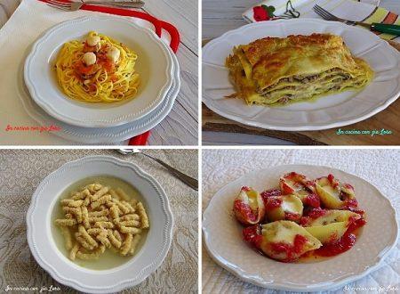 Raccolta di primi piatti bontà e fantasia