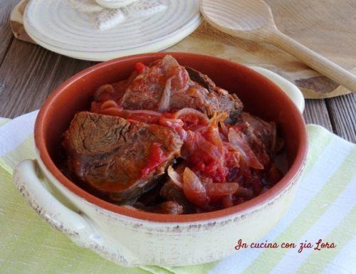 Lesso alla picchiapo' ricetta romana